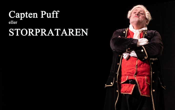 Succé för Kulturaftnarnas uppsättning av Olof Kexéls pjäs Capten Puff från 1789
