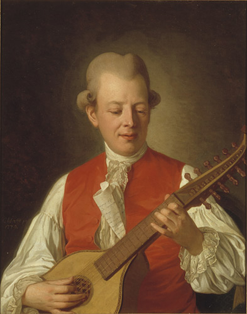 Carl Michael Bellman av Per Krafft d.ä.
