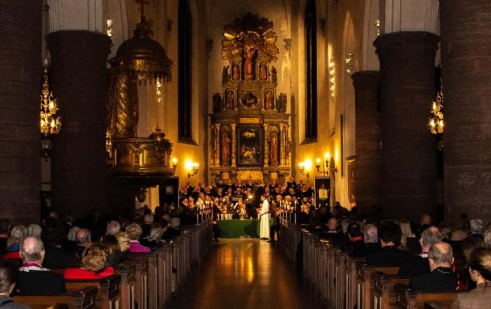 Moderlogen avhöll Minneshögtid med Parentation i S:t Jacobs kyrka