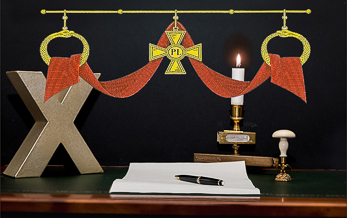 Konung Gustav Vasas Riddargrad – Riddare av Gyllene Korset – 8:e februari